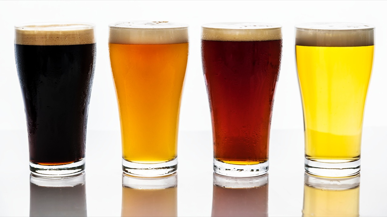 Beer types ales vs. lagers vs. stouts vs. porters