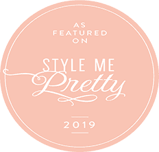 "As featured on ""Style Me Pretty 2019"""